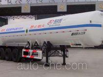 圣达因牌SDY9390GDY型低温液体运输半挂车