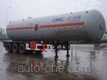 Shengdayin SDY9400GYQ liquefied gas tank trailer
