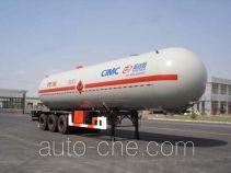 Shengdayin SDY9400GYQB liquefied gas tank trailer