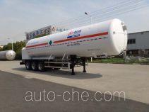 Shengdayin SDY9402GDYN cryogenic liquid tank semi-trailer