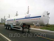 圣达因牌SDY9403GDYR型低温液体运输半挂车