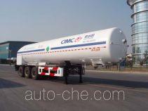 Shengdayin SDY9404GDYY1 cryogenic liquid tank semi-trailer