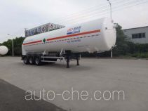 Shengdayin SDY9405GDYN cryogenic liquid tank semi-trailer