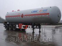 Shengdayin SDY9405GYQ liquefied gas tank trailer
