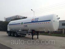 Shengdayin SDY9406GDYN cryogenic liquid tank semi-trailer