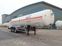 Shengdayin SDY9406GDYY cryogenic liquid tank semi-trailer