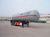 Shengdayin SDY9406GYQH liquefied gas tank trailer