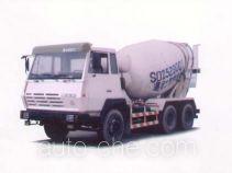 圣岳牌SDZ5250GJB型混凝土搅拌运输车