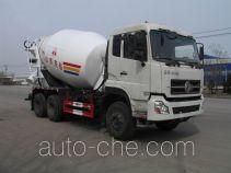 圣岳牌SDZ5250GJBDF型混凝土搅拌运输车