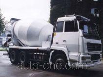 圣岳牌SDZ5251GJB型混凝土搅拌运输车