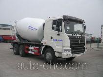 圣岳牌SDZ5255GJB38型混凝土搅拌运输车