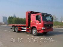Shengyue SDZ5257TPB flatbed truck
