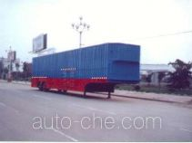 圣岳牌SDZ9161TCL型车辆运输半挂车