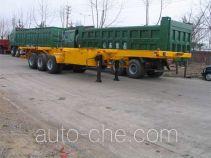 圣岳牌SDZ9400TJZ型集装箱运输半挂车