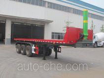 Shengyue flatbed dump trailer