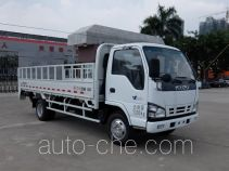 Dongfeng trash containers transport double deck truck