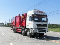 Serva SJS SEV5282TGY oilfield fluids tank truck
