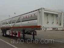 景阳岗牌SFL9320GGY型液压子站高压气体长管半挂车
