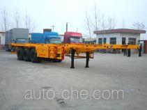 景阳岗牌SFL9370TJZG型集装箱运输半挂车