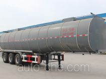 Jingyanggang SFL9401GYS aluminium liquid food tank trailer