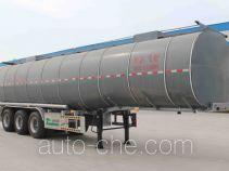 Jingyanggang SFL9401GYSL aluminium liquid food tank trailer