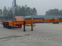 景阳岗牌SFL9401TJZG型集装箱运输半挂车