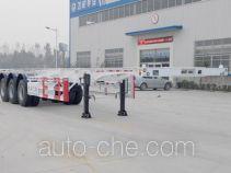 Jingyanggang SFL9401TWY dangerous goods tank container skeletal trailer