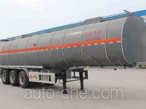 Jingyanggang SFL9402GRYL flammable liquid aluminum tank trailer