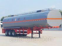 景阳岗牌SFL9403GRY型易燃液体罐式运输半挂车