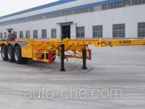 景阳岗牌SFL9405TJZG型集装箱运输半挂车