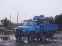 胜工牌SG5090JSQ3型随车起重运输汽车