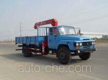 胜工牌SG5100JSQ3型随车起重运输车