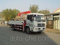 胜工牌SG5120JSQ5型随车起重运输车