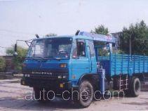 胜工牌SG5140JSQ3型随车起重运输汽车