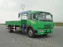 胜工牌SG5141JSQ3型随车起重运输车