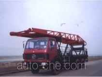 Freet Shenggong SG5200TLF vertical mounting derrick truck
