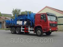Freet Shenggong SG5240TLC coil tubing truck