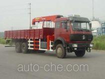 胜工牌SG5250JSQ8型随车起重运输车