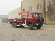胜工牌SG5251JSQ8型随车起重运输车