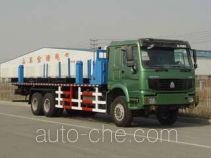 Freet Shenggong SG5251TCZ oilfield equipment transport truck