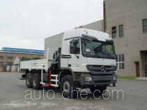 胜工牌SG5252JSQ5型随车起重运输车