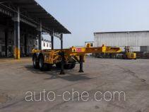 蛇口港机牌SGJ9351TJZG型集装箱运输半挂车