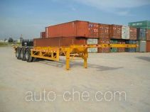 Shekou Port Machinery SGJ9360TJZG container transport trailer