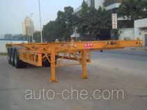 Shekou Port Machinery SGJ9370TJZG container transport trailer