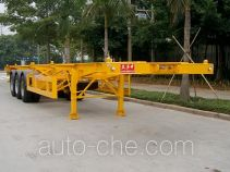 Shekou Port Machinery SGJ9390TJZG container transport trailer