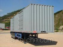 Shekou Port Machinery SGJ9391XXY box body van trailer