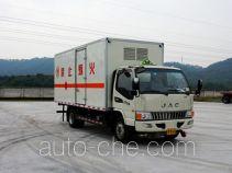 Shaoye SGQ5090XRQJG5 flammable gas transport van truck