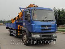 韶液牌SGQ5160JSQLG5型随车起重运输车