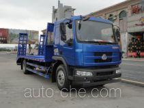 韶液牌SGQ5160TPBLG4型平板运输车