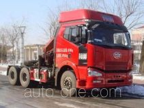 Shaoye SGQ5250JSQCY tractor unit mounted loader crane